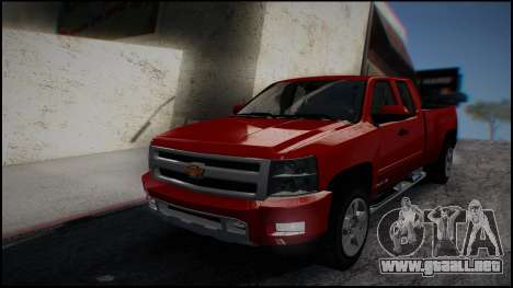 Chevrolet Silverado 1500 HD Stock para GTA San Andreas left