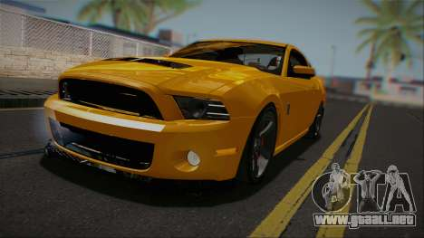 Ford Shelby GT500 2013 Vossen version para GTA San Andreas