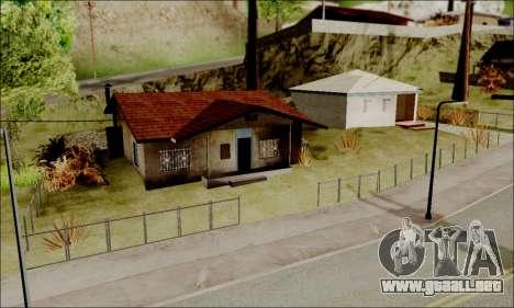ENB para PC de bajos para GTA San Andreas sucesivamente de pantalla