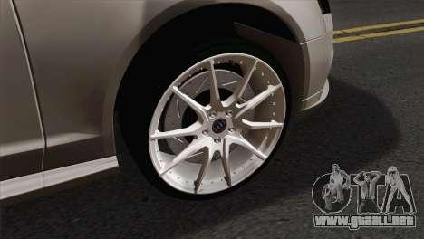 Audi S4 Sedan 2010 para GTA San Andreas