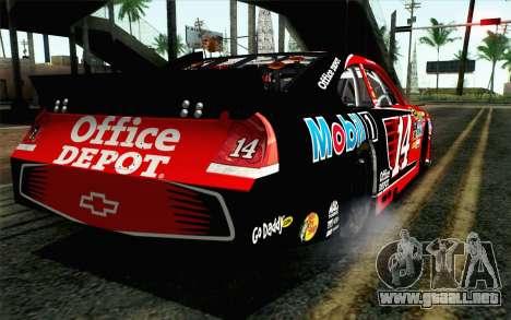 NASCAR Chevrolet Impala 2012 Short Track para GTA San Andreas left