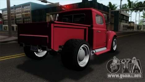 GTA 5 Bravado Rat-Truck IVF para GTA San Andreas left