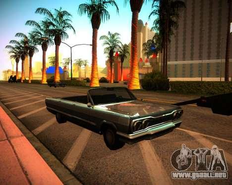 ENB GreenSeries para GTA San Andreas segunda pantalla