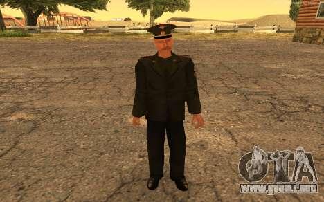 El coronel del ejército ruso para GTA San Andreas