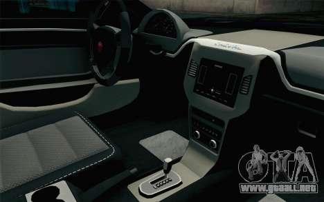 GTA 5 Cheval Fugitive HQLM para la visión correcta GTA San Andreas