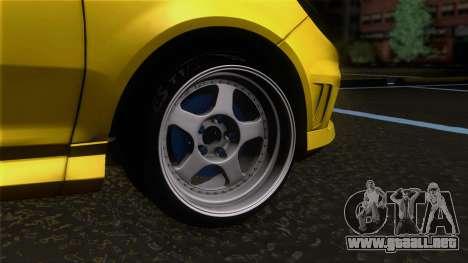 Opel Corsa OPC para GTA San Andreas vista posterior izquierda