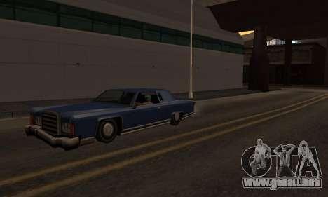 El cambio de las áreas de las pandillas y sus ar para GTA San Andreas