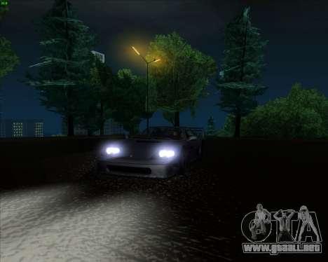 ENB Series New HD para GTA San Andreas octavo de pantalla