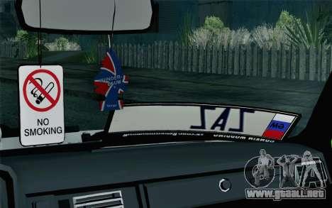 VAZ 2105 Drist-Enganches para GTA San Andreas vista hacia atrás