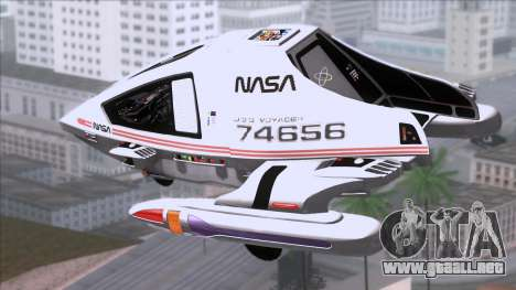 Shuttle v2 Mod 1 para GTA San Andreas left