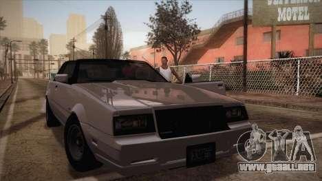Simple ENB Series for Low PC para GTA San Andreas quinta pantalla