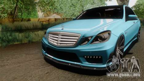 Mercedes-Benz E63 AMG 2010 Vossen wheels para GTA San Andreas