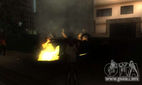 ENB por medio de la PC para GTA San Andreas octavo de pantalla