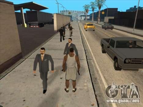 A los Rusos en el distrito Comercial para GTA San Andreas undécima de pantalla