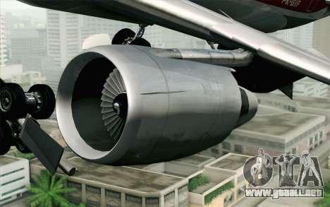 DC-10-30 Garuda Indonesia Sulawesi para la visión correcta GTA San Andreas