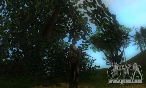 ENB por medio de la PC para GTA San Andreas novena de pantalla