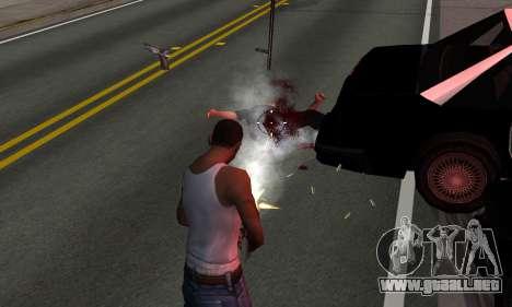 BeautifulDark ENB para GTA San Andreas quinta pantalla