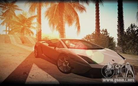 ENB for SA:MP v5 para GTA San Andreas tercera pantalla