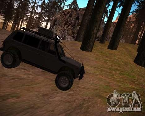VAZ 2131 Niva 5D OffRoad para GTA San Andreas interior