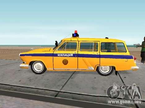 GAS 22 de la unión Soviética de la policía para GTA San Andreas left