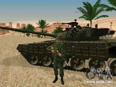 El ejército ruso está en una nueva forma para GTA San Andreas sexta pantalla