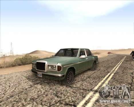 ENB v3.2.3 para GTA San Andreas sucesivamente de pantalla