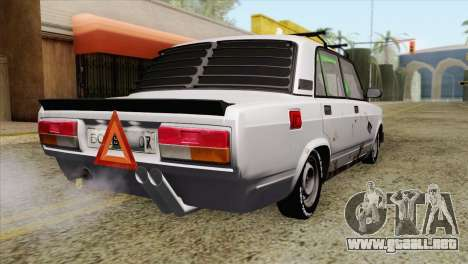 VAZ 2107 A.C. para GTA San Andreas left