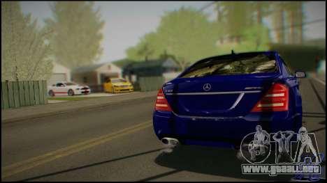 Mercedes-Benz S65 AMG 2012 Road version para la visión correcta GTA San Andreas