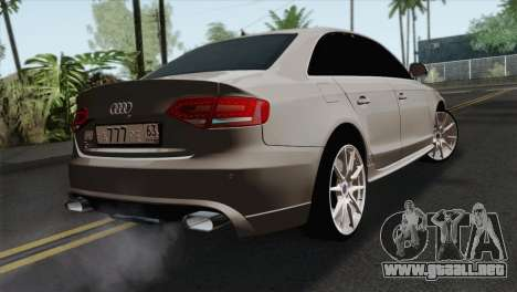 Audi S4 Sedan 2010 para GTA San Andreas left
