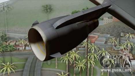 C-17A Globemaster III RCAF para la visión correcta GTA San Andreas
