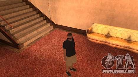 New Zero para GTA San Andreas segunda pantalla