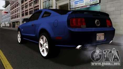 Ford Mustang GT PJ Wheels 1 para GTA San Andreas left