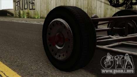 GTA 5 Space Docker para GTA San Andreas vista posterior izquierda