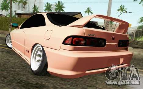 Acura Integra Type R 2001 JDM para GTA San Andreas left