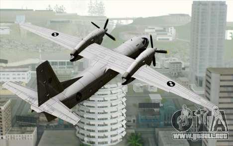 AN-32B Croatian Air Force Closed para GTA San Andreas left