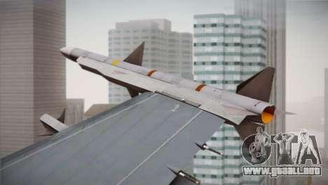 F-16 Fighting Falcon RNLAF para la visión correcta GTA San Andreas