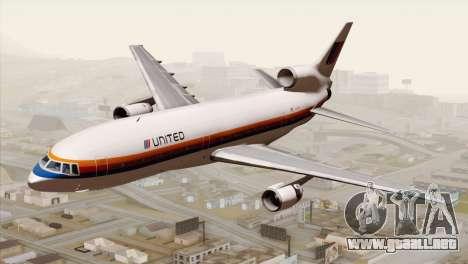 Lookheed L-1011 United Als para GTA San Andreas