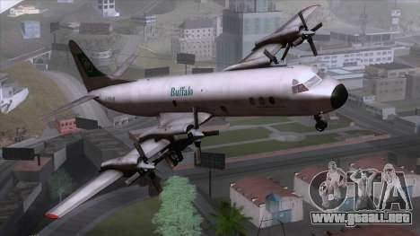 L-188 Electra Buffalo Airways para GTA San Andreas