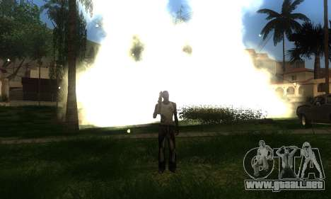 ENB por medio de la PC para GTA San Andreas sexta pantalla