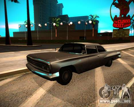 ENB GreenSeries para GTA San Andreas sucesivamente de pantalla