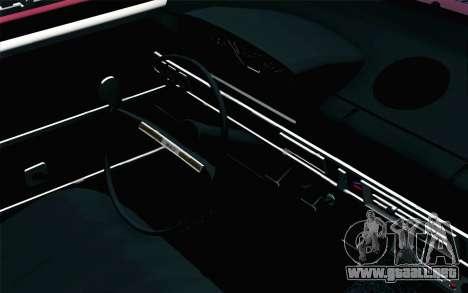VAZ 2101 Lowrider para la visión correcta GTA San Andreas