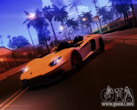 iNFINITY ENB para GTA San Andreas séptima pantalla