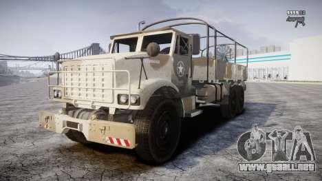 GTA 5 Barracks v2 para GTA 4 vista superior