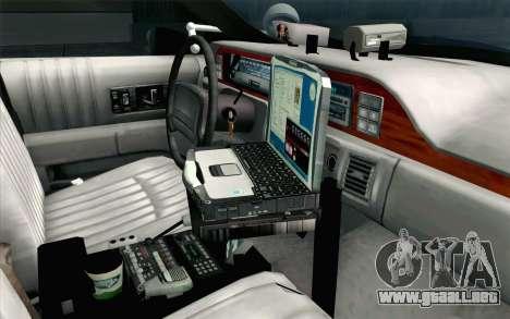 Chevy Caprice SAHP SAPD Highway Patrol v1 para la visión correcta GTA San Andreas