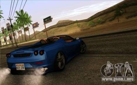 GTA 5 ENB by Dizz Nicca para GTA San Andreas tercera pantalla