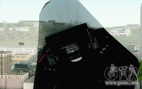 Sukhoi PAK-FA China Air Force para la visión correcta GTA San Andreas