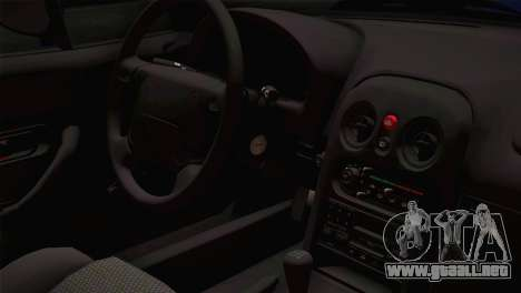 Mazda Miata Cabrio v2 para GTA San Andreas vista hacia atrás