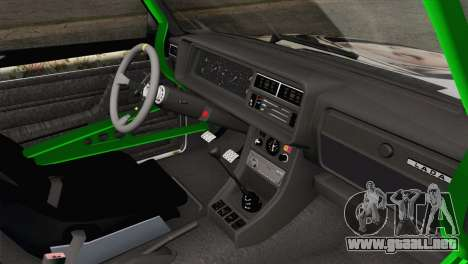 VAZ 2107 A.C. para la visión correcta GTA San Andreas