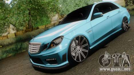 Mercedes-Benz E63 AMG 2010 Vossen wheels para GTA San Andreas left