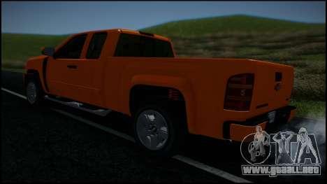 Chevrolet Silverado 1500 HD Stock para las ruedas de GTA San Andreas